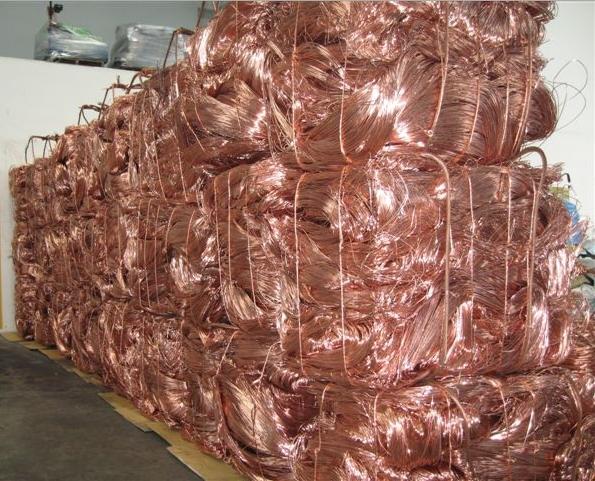 Copper scrap recycling in the UK