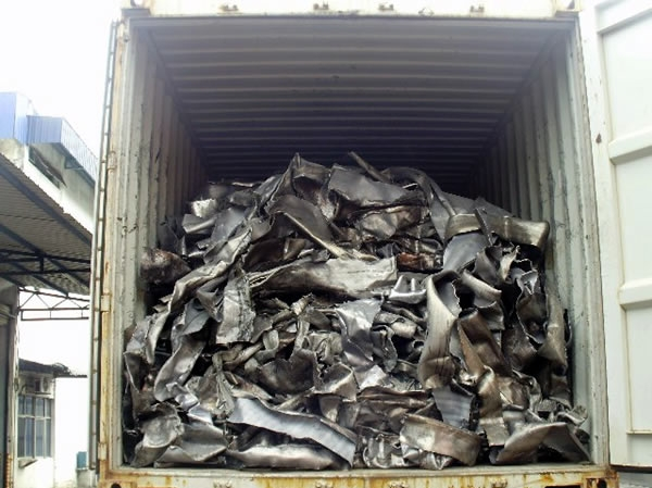 Lead scrap market in the United Kingdom