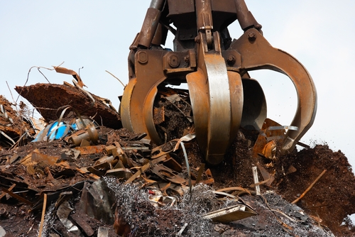 Metal scrap recycling in the United Kingdom