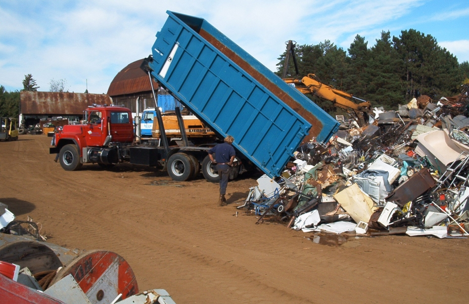 Scrap trading and recycling in the UK