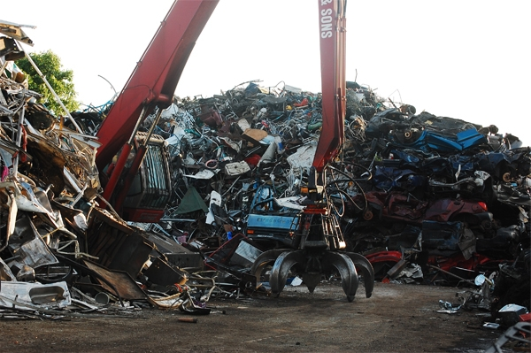 Metal scrap in th United Kingdom