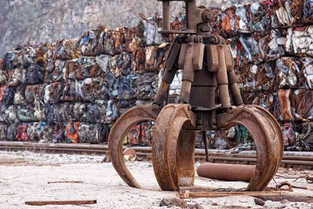 Metal scrap prices decline in the UK